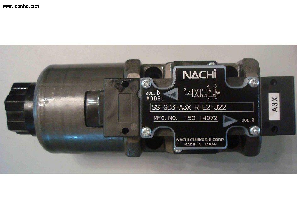 日本Nachi SS-G03-C6-GR-D2-21不二越电磁换向阀