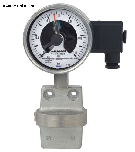 伟德国际betvicror官网WIKA带开关的压力表DPGS43.100 Differential pressure gauge with switch contacts