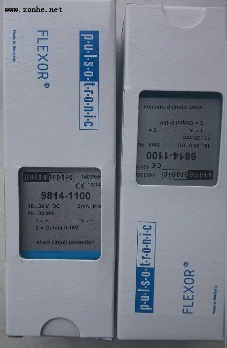 伟德国际betvicror官网PULSOTRONIC传感器接近开关PULSOTRONIC 9814-1100位置开关