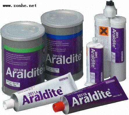 环氧胶粘剂Araldite 2011A/B , 应用于聚酰胺50 ml 黄色 双管式  Araldi