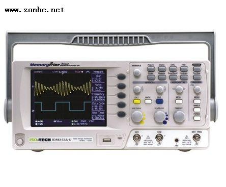 数字示波器ISO-TECH IDS6102A-U, 数字存储, 2 通道 100MHz, TFT L