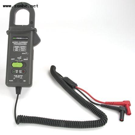 万用表钳形电流适配器ISO-TECH ICA32, 交流/直流类型, 600A dc 600A ac