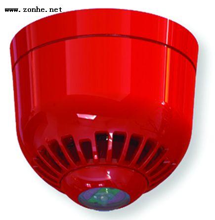 声光报警器Klaxon ESC-5008 白色, 17 → 60 V 直流, 97dB Sonos 脉冲