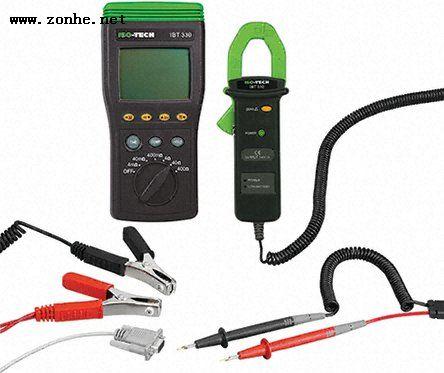 电池测试器ISO-TECH IBT330, 适用于6V 铅酸电池