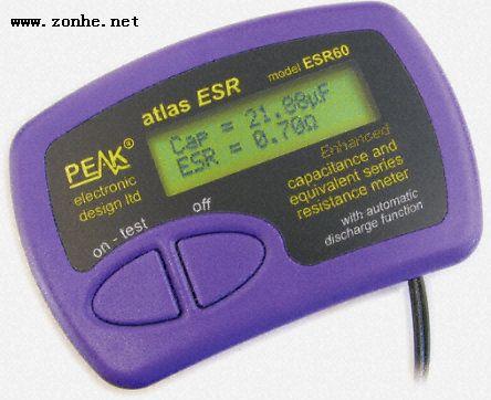 电容值仪表ESR,ESR60Peak Electronic Design ESR60电容测量仪