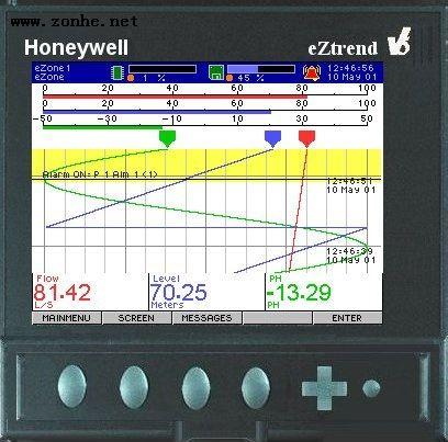 霍尼韦尔记录仪HONEYWELL TVEZQX-61-010-11-0-000-000000-000 eZtrend无纸记录仪