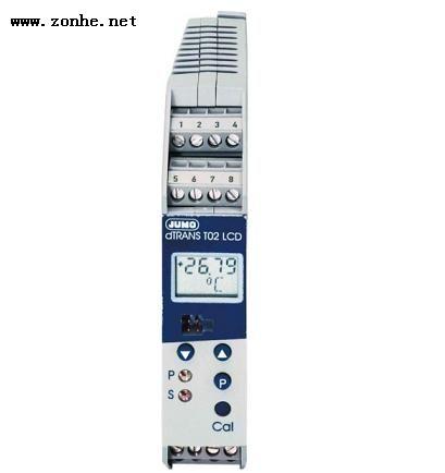伟德国际betvicror官网久茂JUMO智能温度变送器JUMO dTRANS T02 LCD 956522 702022/8